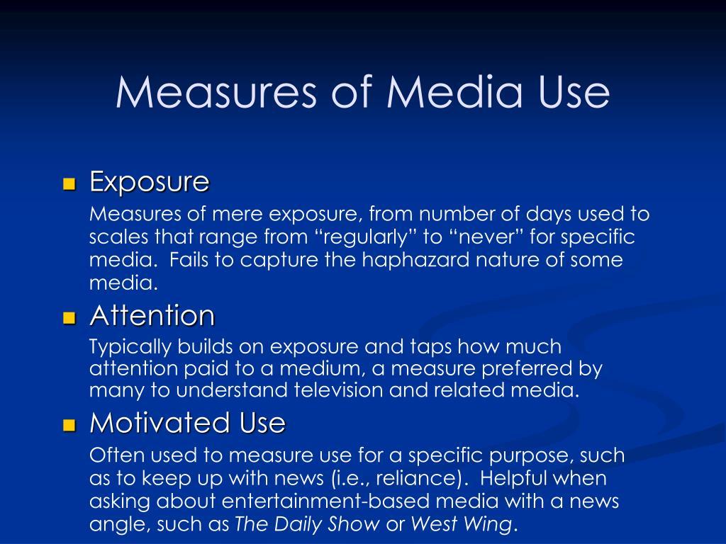 misue of media