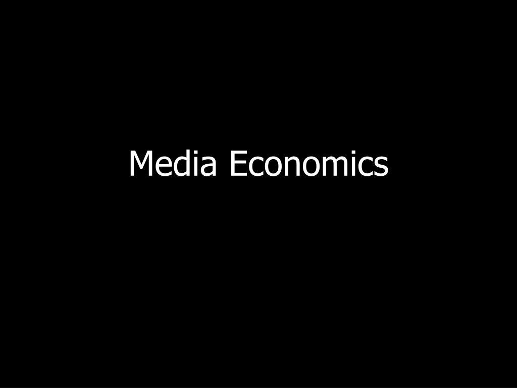 media economics l.