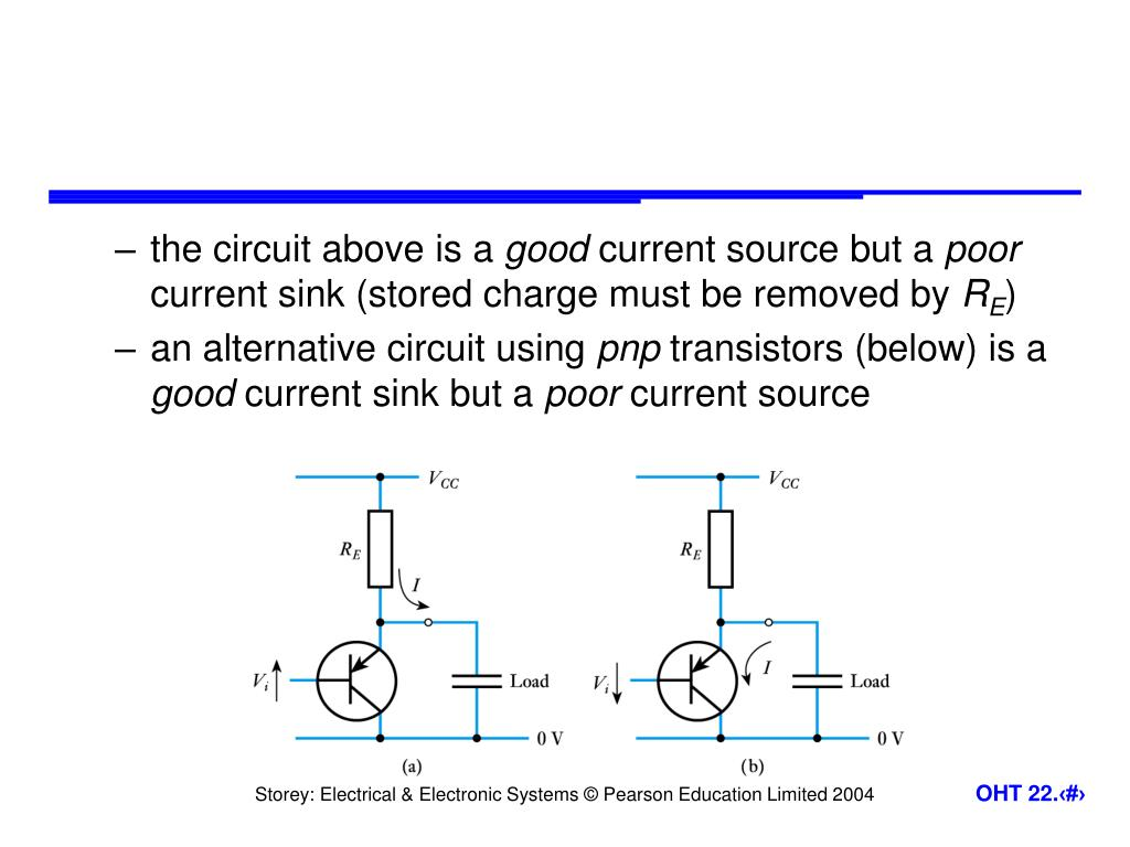 the circuit above is a