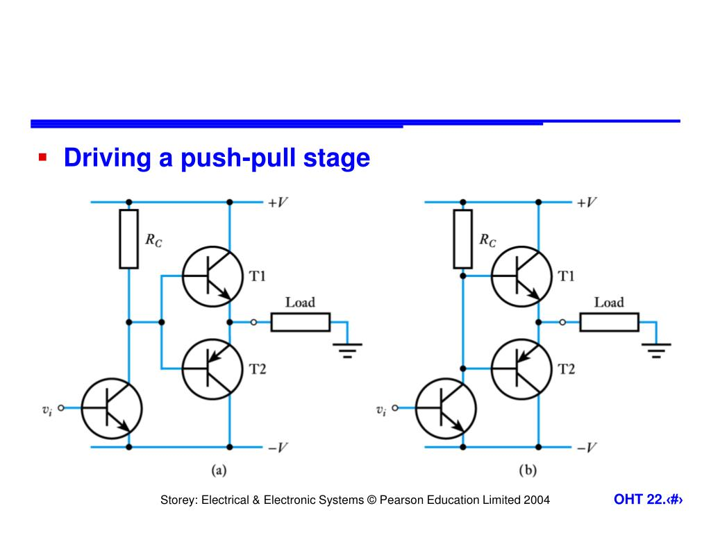 Driving a push-pull stage