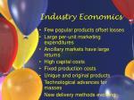 industry economics