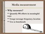 media measurement