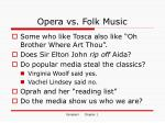 opera vs folk music
