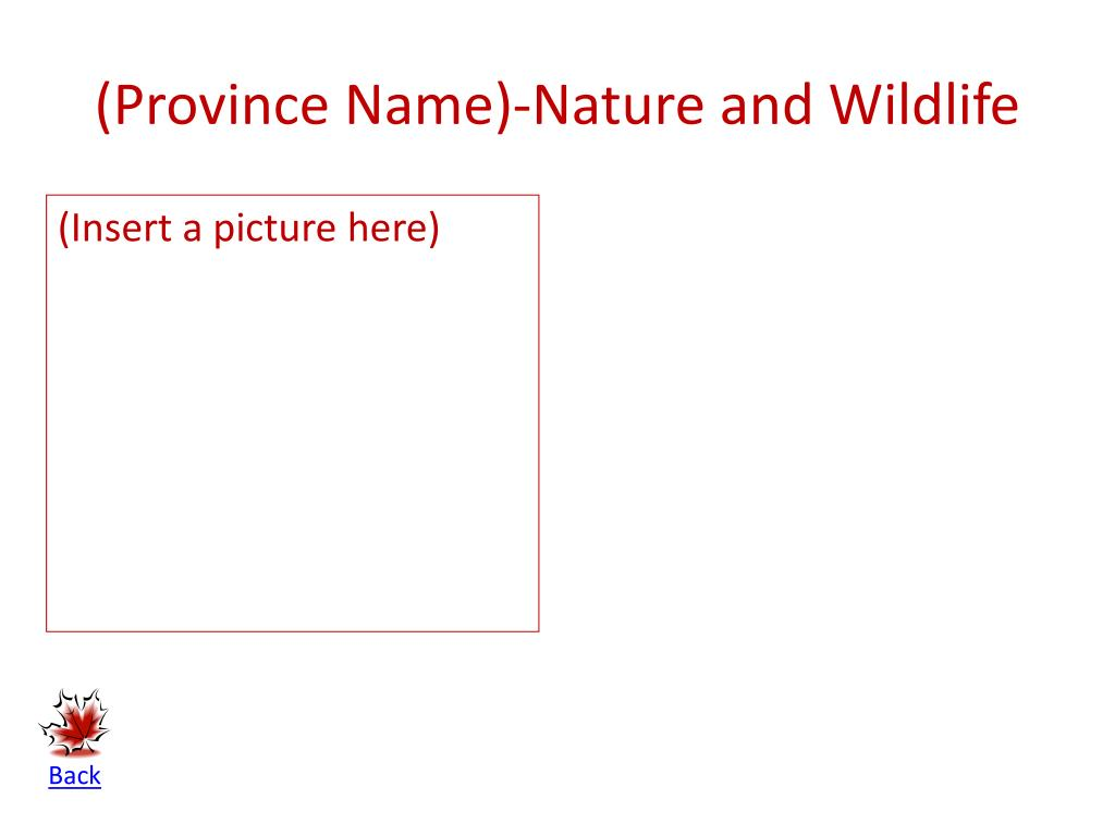 (Province Name)-Nature and Wildlife