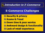 e commerce challenges