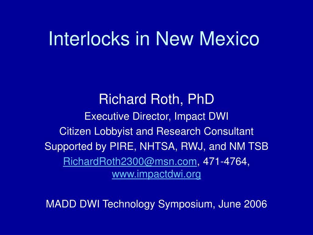 interlocks in new mexico l.