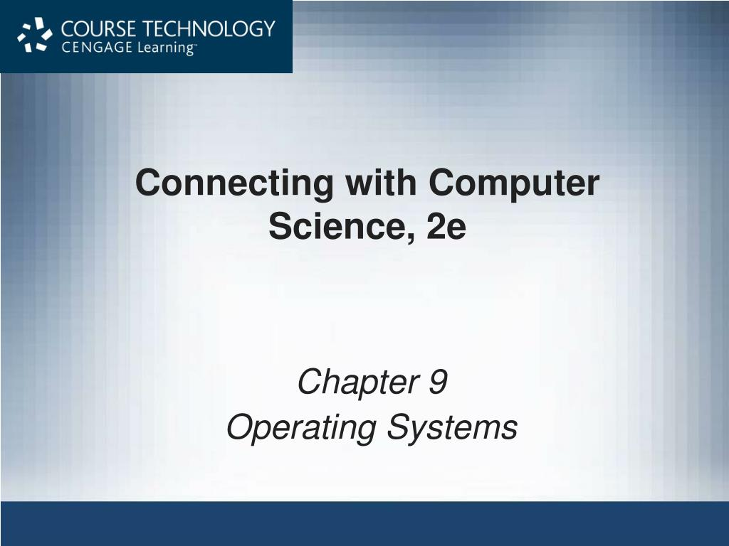 connecting with computer science 2e l.
