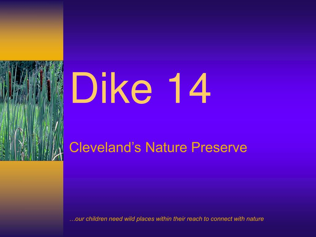 cleveland s nature preserve l.
