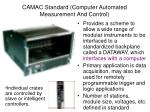 camac standard computer automated measurement and control