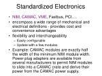 standardized electronics