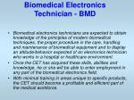 biomedical electronics technician bmd