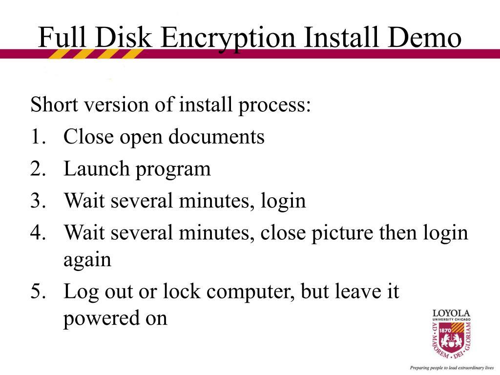 Short version of install process: