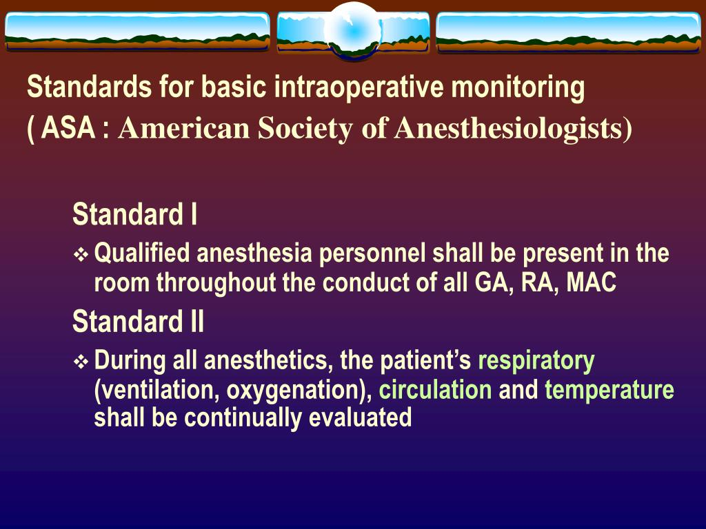 PPT - Monitoring in Anesthesia PowerPoint Presentation - ID