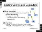 eagle s comms and computers