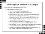 modeling plan execution example18