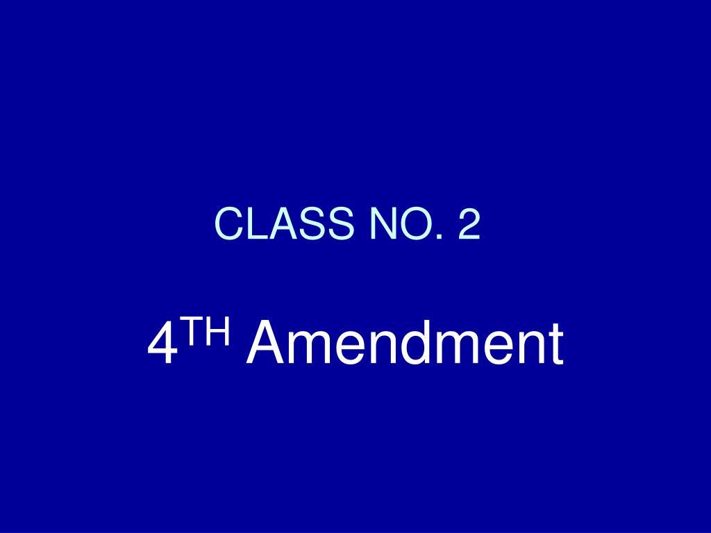 class no 2 l.