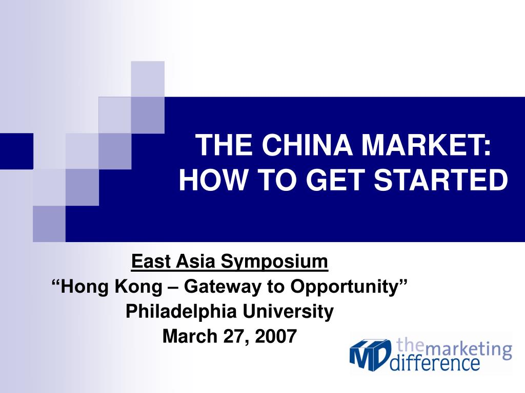 the china market how to get started l.