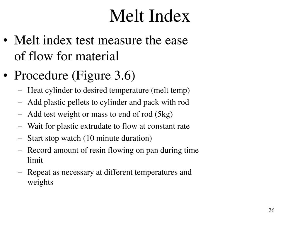 Melt Index