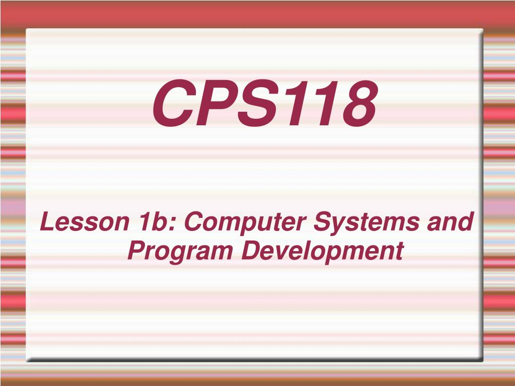 cps118 l.