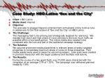 case study hbo latino sex and the city