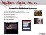 gamer site publishers response