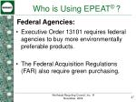 who is using epeat27