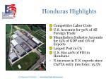 honduras highlights