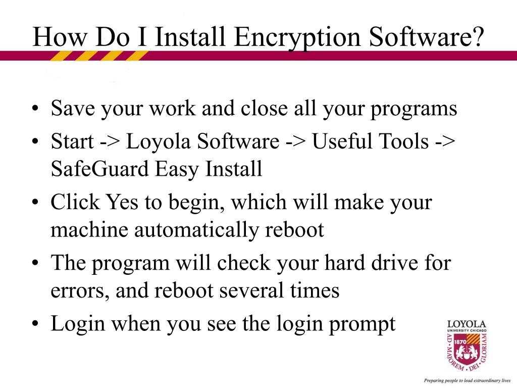 Save your work and close all your programs