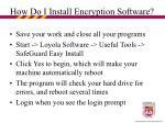how do i install encryption software22