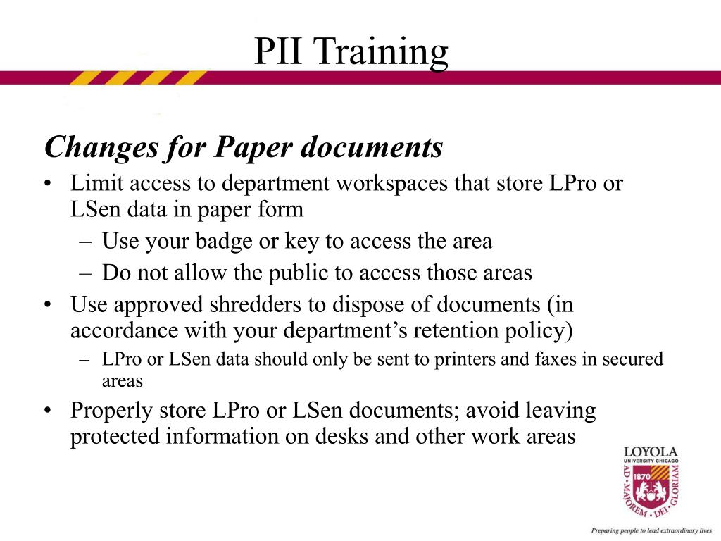 Changes for Paper documents