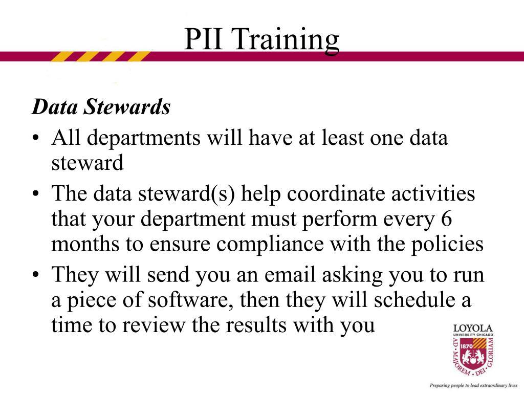Data Stewards