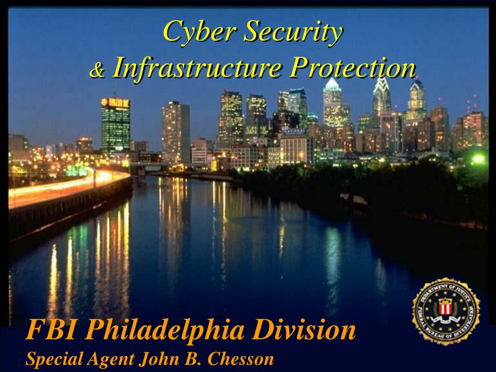 cyber security infrastructure protection l.