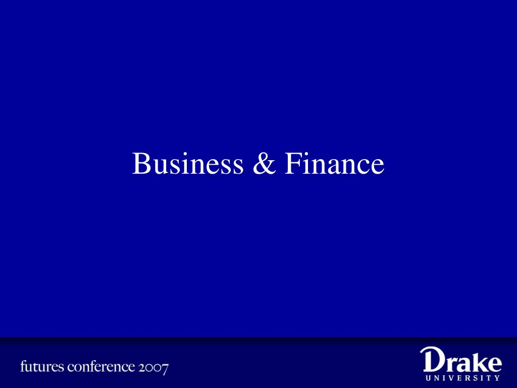 business finance l.