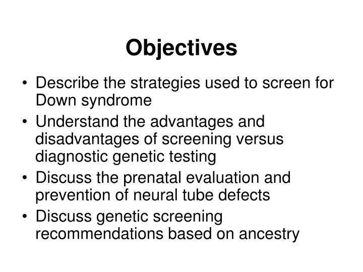 advantages and disadvantages of genetic testing