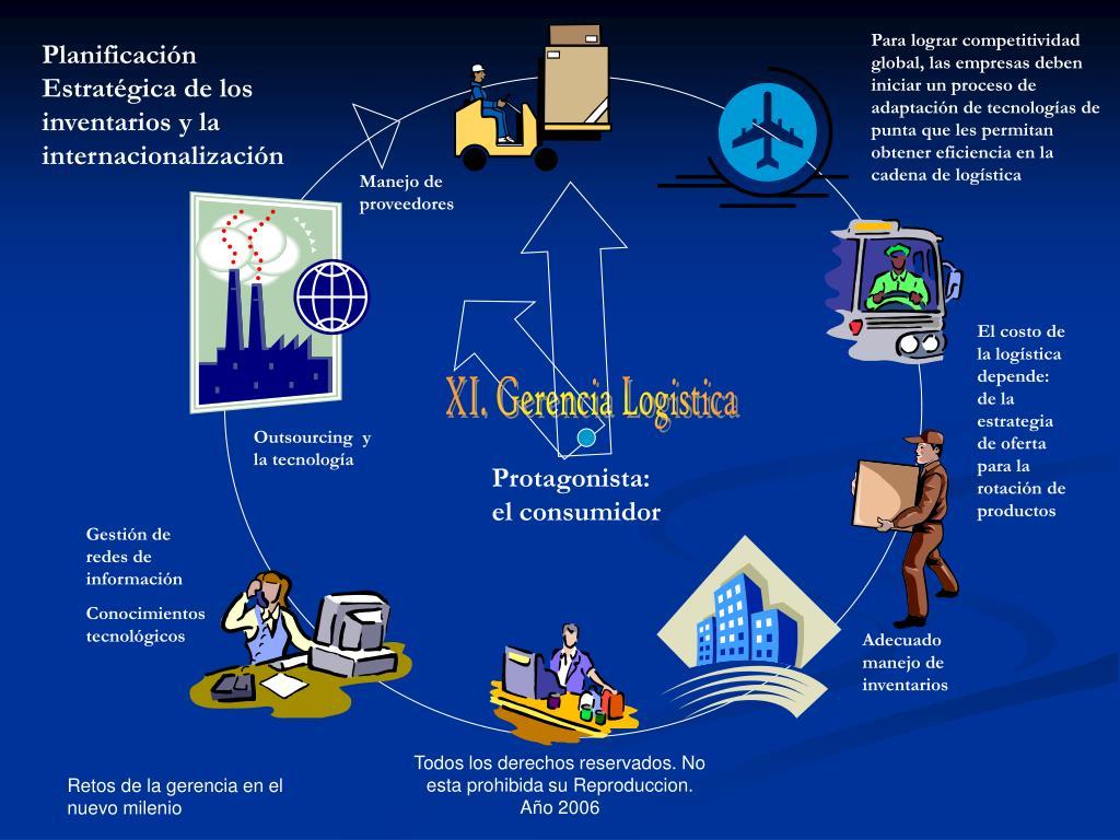 Para lograr competitividad global, las empresas deben iniciar un proceso de adaptación de tecnologías de punta que les permitan obtener eficiencia en la cadena de logística