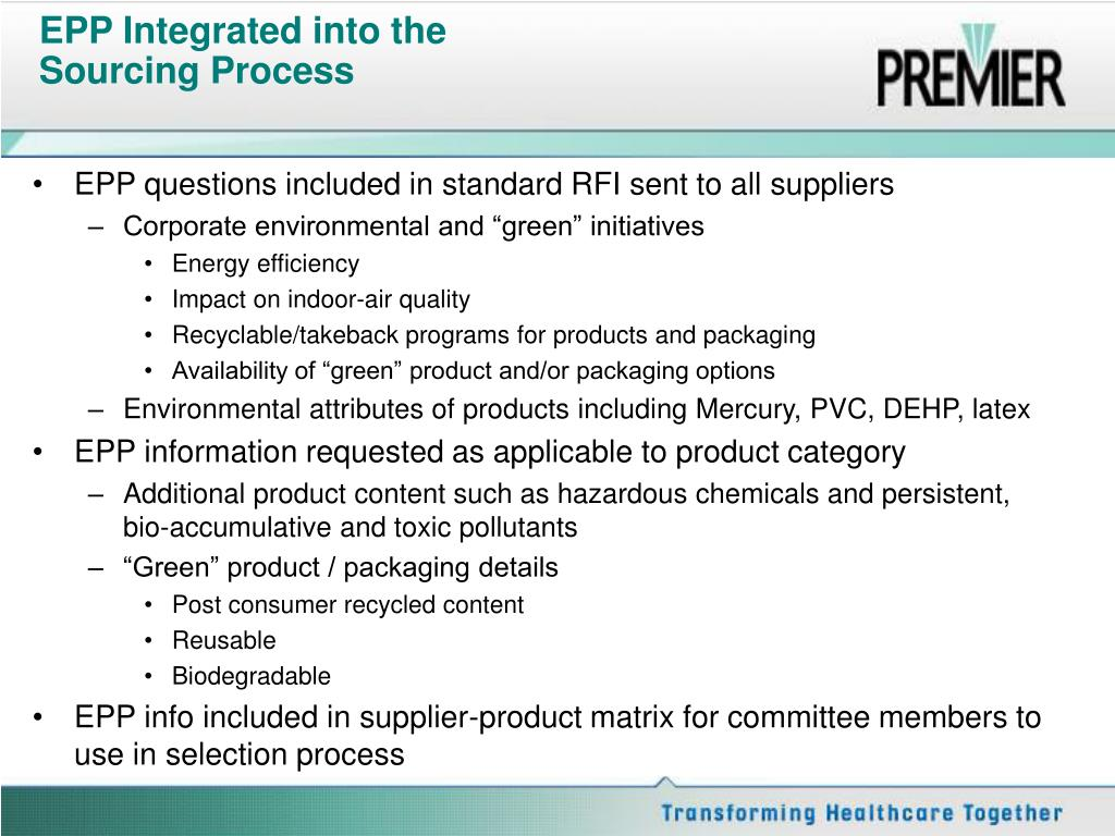 EPP Integrated into the