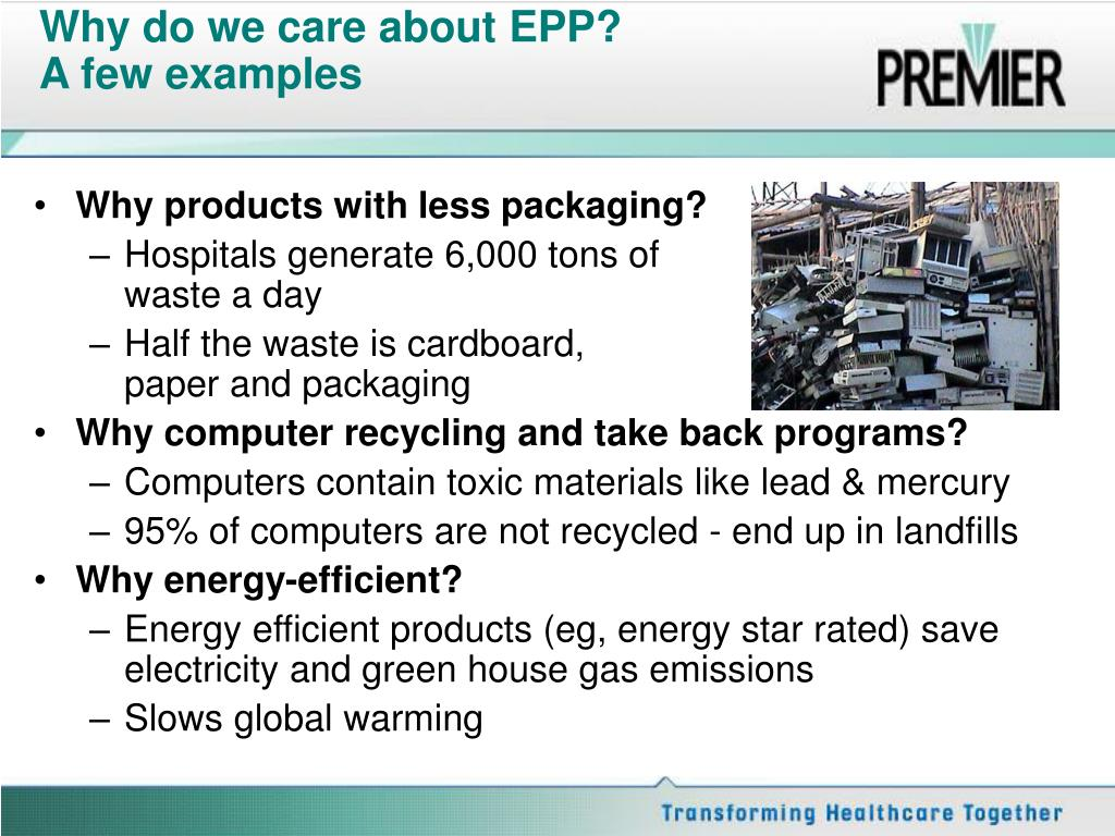Why do we care about EPP?