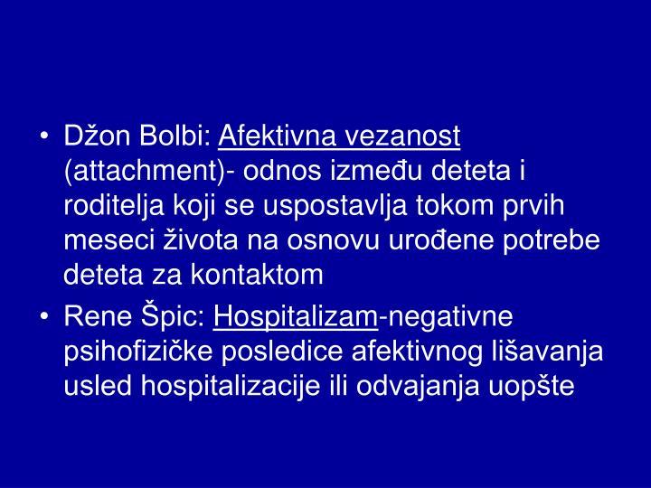 Džon Bolbi: