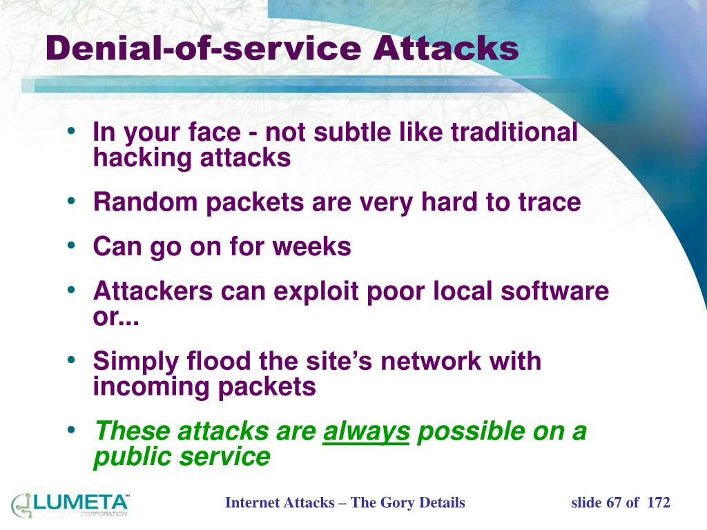 Denial-of-service Attacks