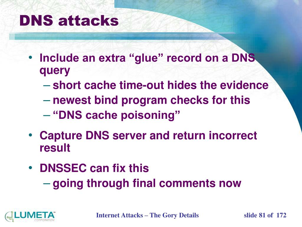 DNS attacks
