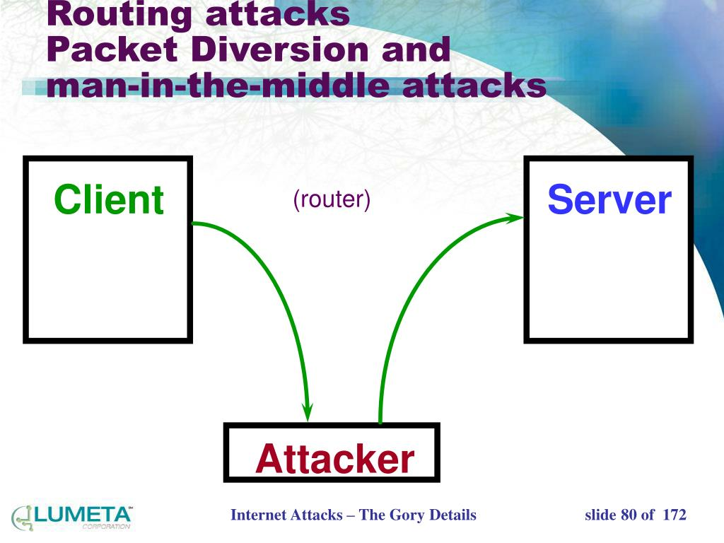 Routing attacks