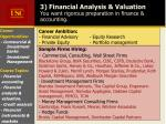 3 financial analysis valuation you want rigorous preparation in finance accounting8