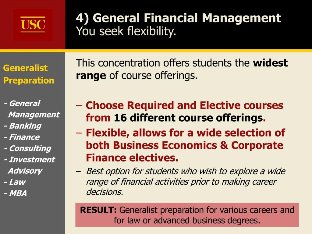finance management you