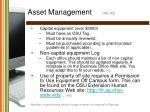 asset management 40 43
