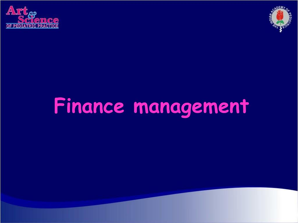 finance management l.