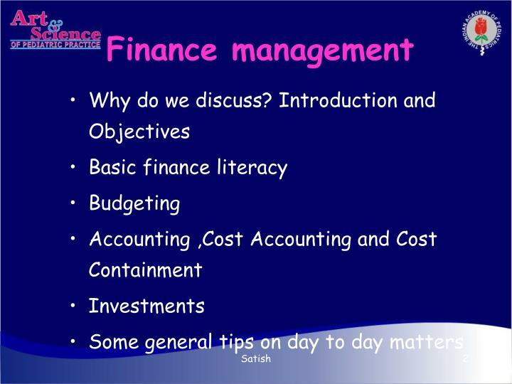 Finance management2