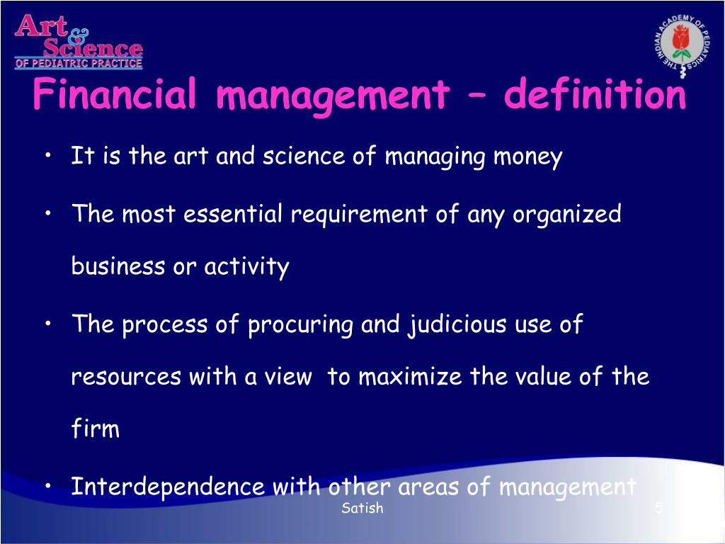 Financial management – definition