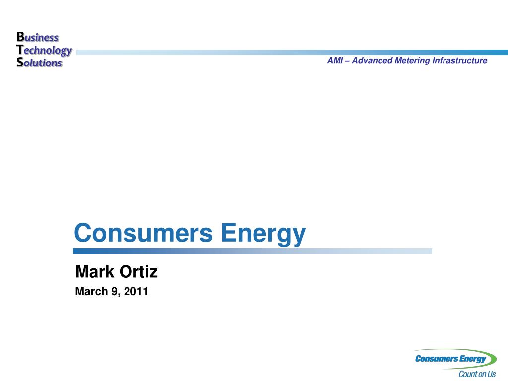 consumers energy l.
