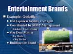 entertainment brands38