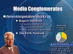 media conglomerates29